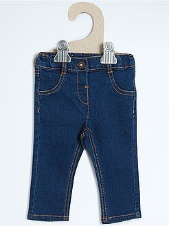 Denim - Jean slim en denim stretch