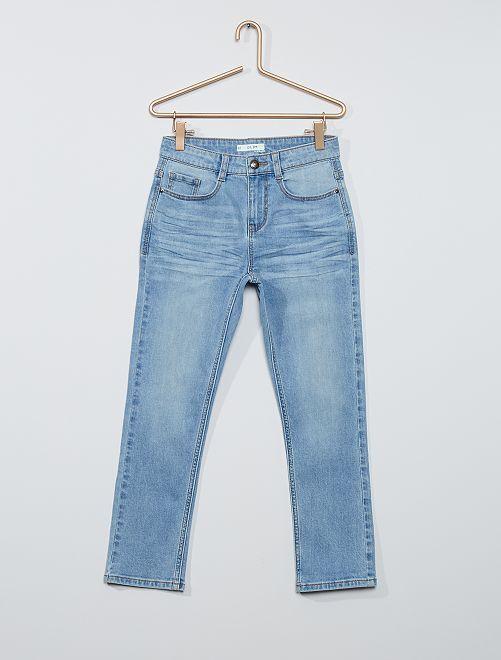 Jean slim grande taille                                         bleu clair