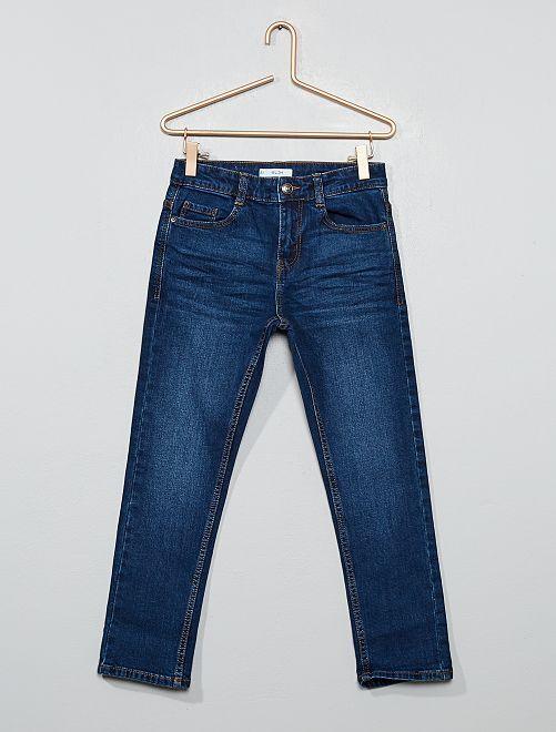 Jean slim grande taille                                         bleu