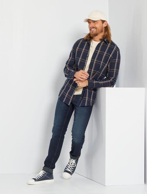 Jean slim L34 'éco-conception'                                                                             bleu indigo