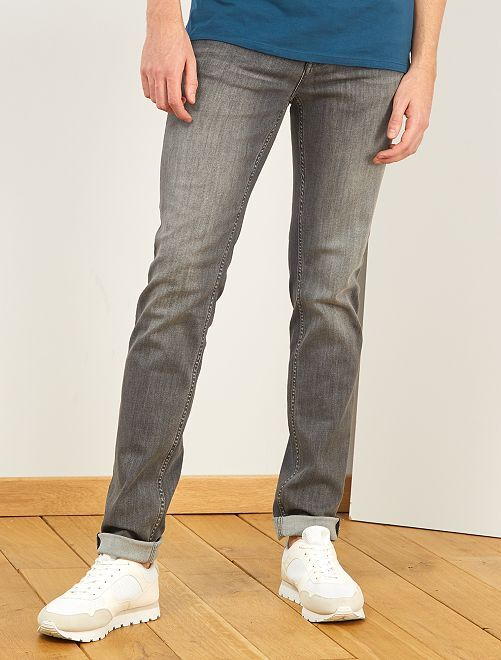 Jean slim L36 +1m90                             gris