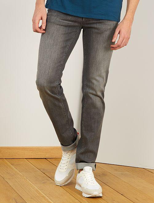 Jean slim L38 +1m95                             gris