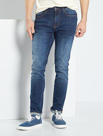 Homme du S au XXL - Jean slim stretch - Kiabi