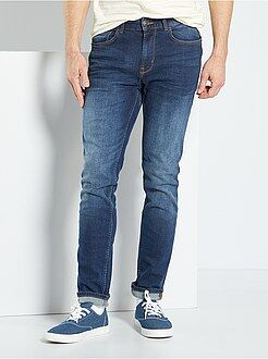 Homme du S au XXL Jean slim stretch
