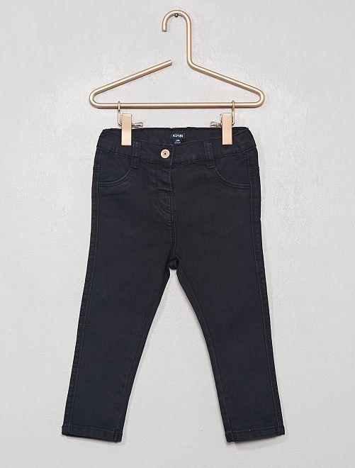 Jean slim stretch                                         noir