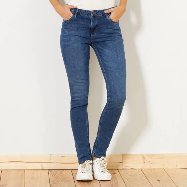 Jean Slim Taille Haute Kiabi