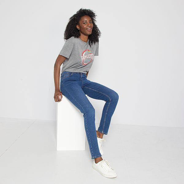 gamme exclusive Découvrez prix raisonnable Jean slim taille haute - Longueur US 30