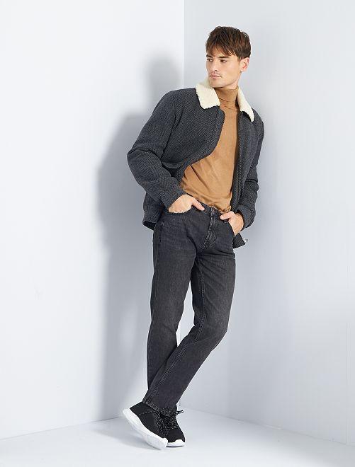 Jean slim tapered                             noir