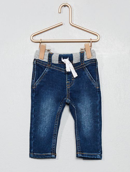 Jean stretch délavé                                         bleu