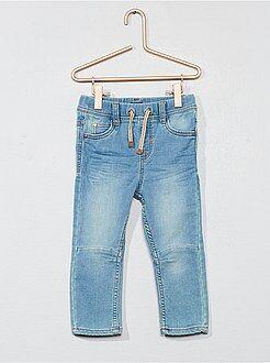 Garçon 0-36 mois - Jean stretch plissé - Kiabi