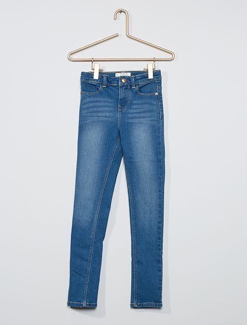 Jean super skinny Enfant fin                                                     bleu