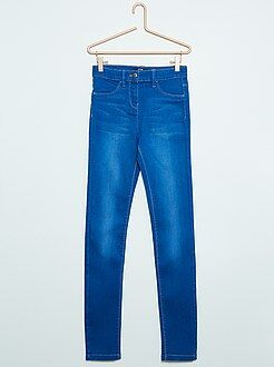 Fille 10-18 ans Jean super skinny taille haute