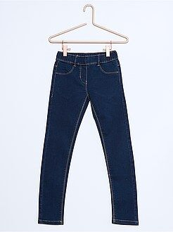 Fille 3-12 ans Jegging denim stretch