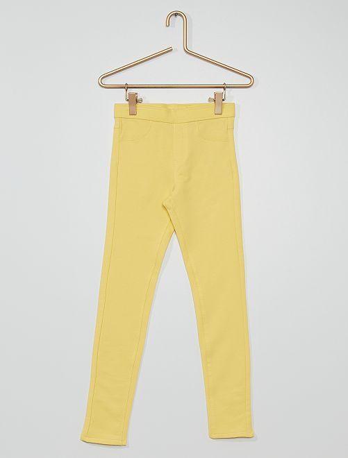 Jegging éco-conçu                                                                                                     jaune doux