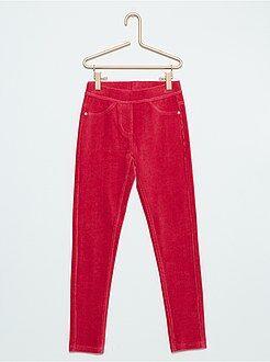 Pantalon - Jegging en velours