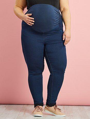 Maternité - Jegging skinny fit de grossesse grande taille - Kiabi
