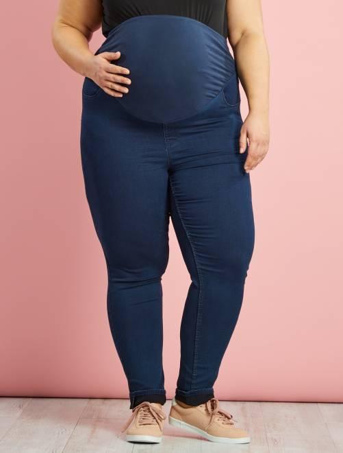 Jegging skinny fit de maternité grande taille                             brut