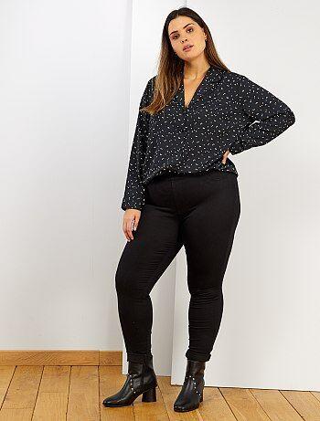 Jegging skinny stretch L30                                                                             noir Grande taille femme