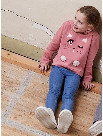 Soldes jeans filles - pantalon Vêtements fille   Kiabi 86d48e739424