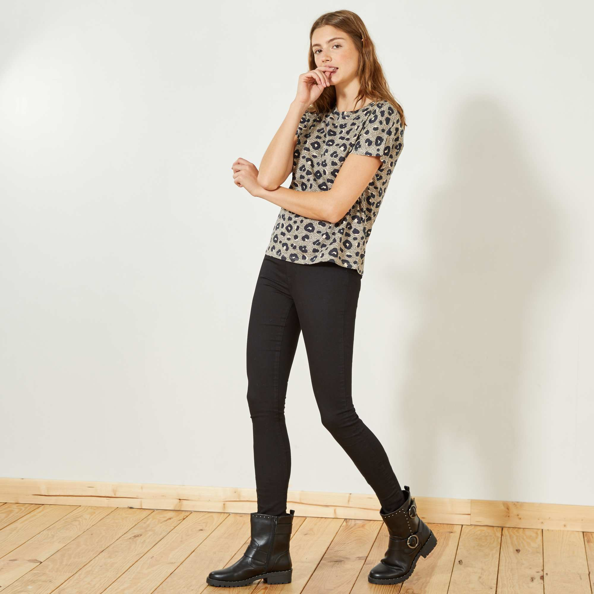 Jegging super skinny taille haute femme kiabi 10 00 - Bicarbonate de soude pas cher ...