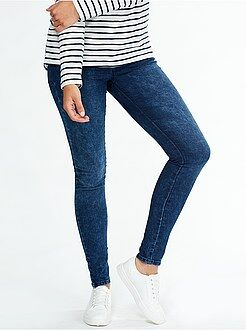 Denim - Jegging super skinny taille haute