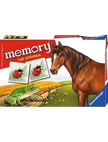 Jeu 'memory' animaux 'Ravensburger' - Kiabi