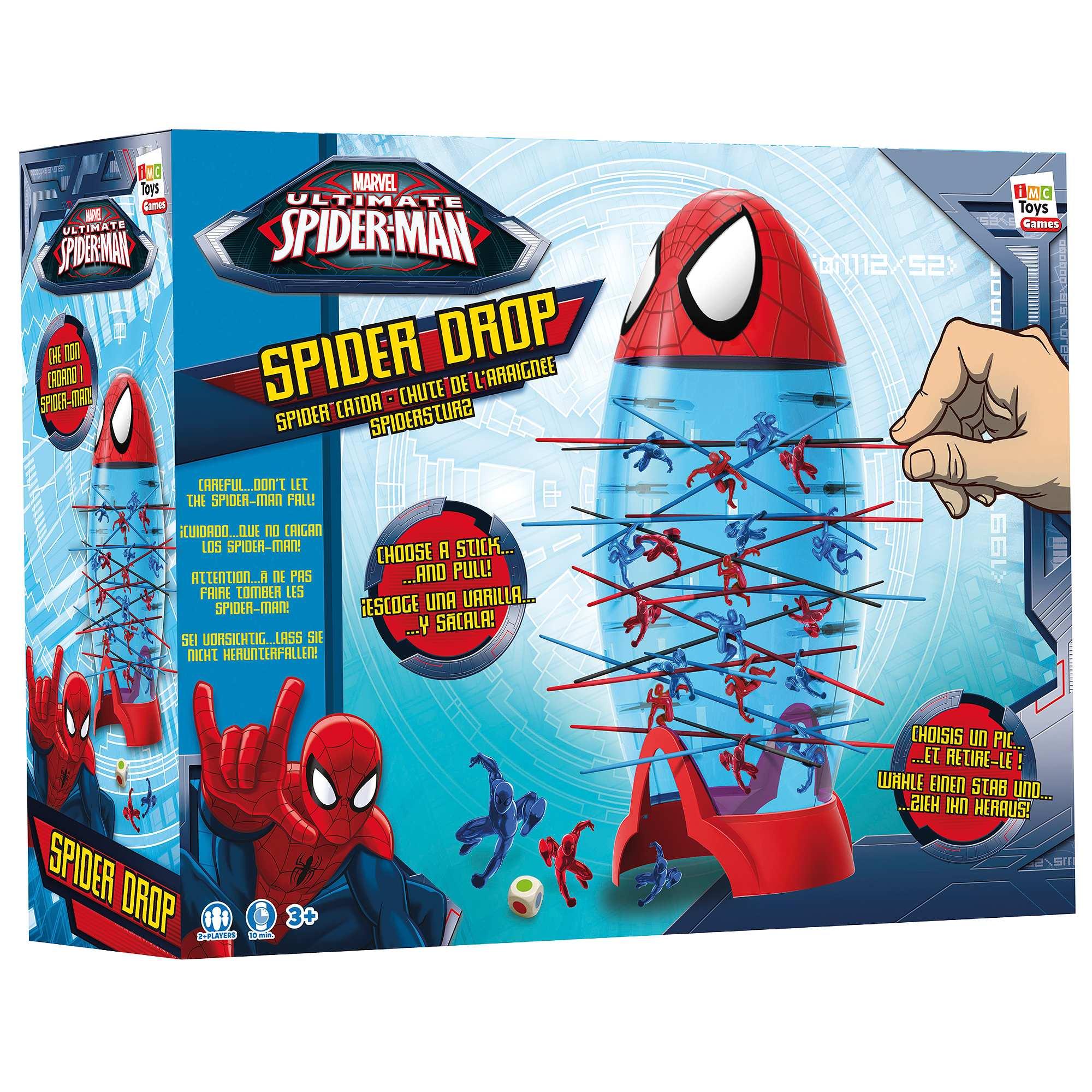 Couleur : rouge, , ,, - Taille : TU, , ,,Votre héros préféré 'Spider Man' dans le jeu de société marvel Chute de l'araignée. Le