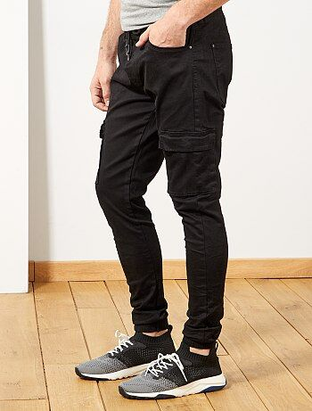 e7fc71cc37a Jogg jean skinny poches battle - Kiabi