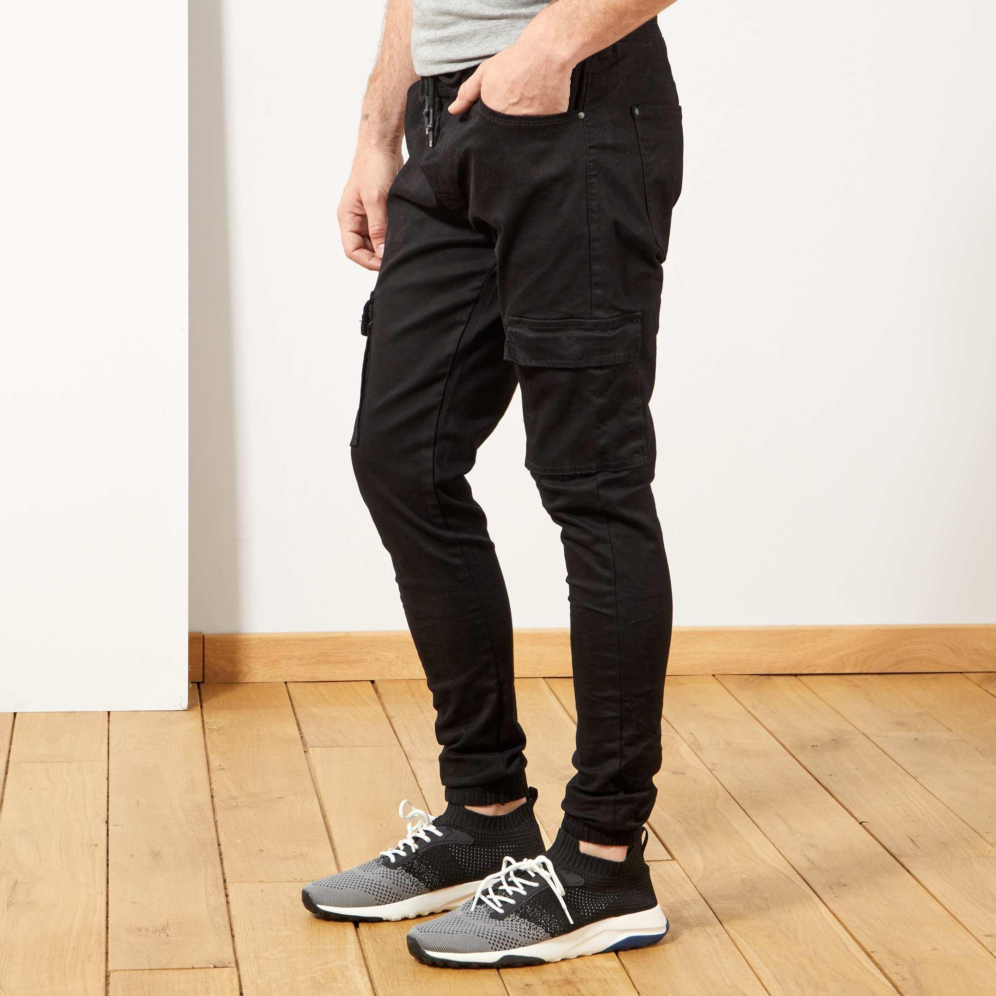 eb80608917b14 Jogg jean skinny poches battle