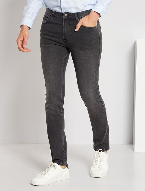 Jogg jean slim                                                                             gris foncé