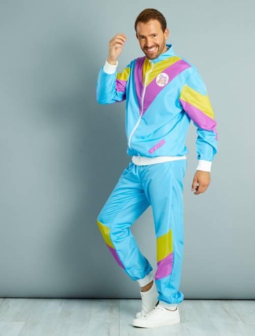 Jogging des années 80                             bleu Homme