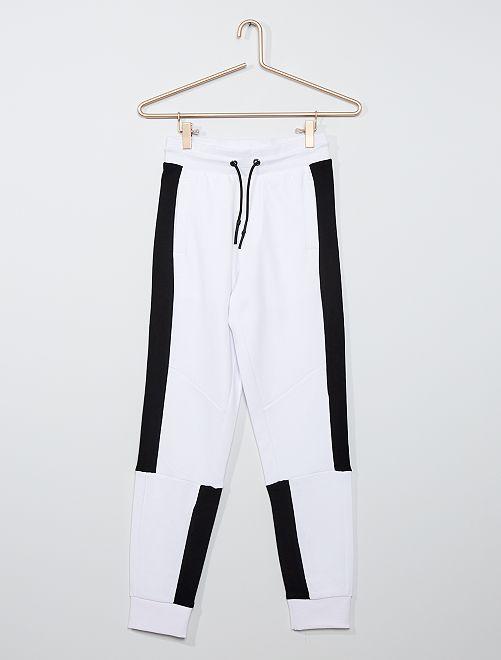 Jogging éco-conçu                                                                 blanc/noir