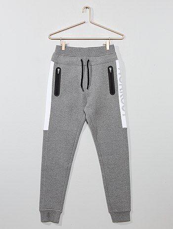 7a37008a07e2d Garçon 10-18 ans - Jogging poches zippées - Kiabi