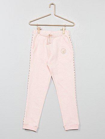 07f804d04a630 Fille 3-12 ans - Jogging pur coton 'Minnie Mouse' - Kiabi