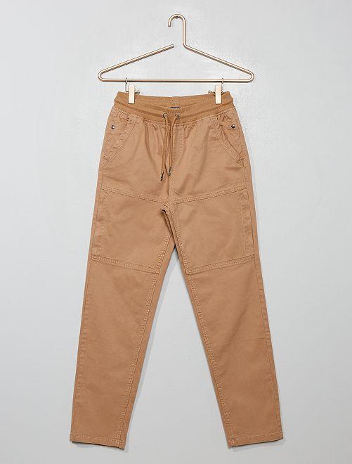 Joggpant à poches                                                     beige