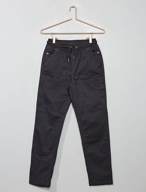 Joggpant à poches                                                     gris foncé