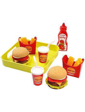 Jouet dînette fast food