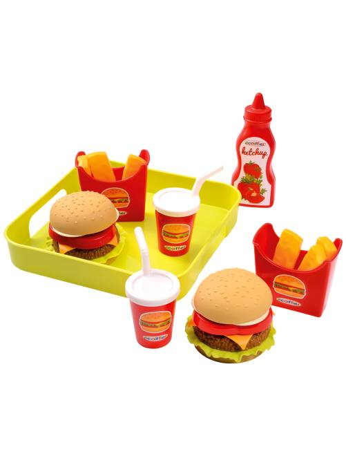 Jouet dînette fast-food                             multicolore