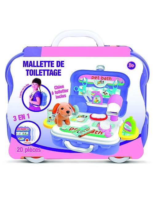 Jouet mallette de toilettage                             multicolore