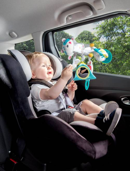 Jouet mobile de voiture 'Badabulle'                             gris/bleu Bébé fille