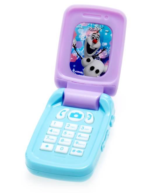 Jouet téléphone portable 'Reine des Neiges'                             bleu clair Fille