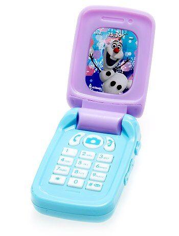 Jouet téléphone portable 'Reine des Neiges'