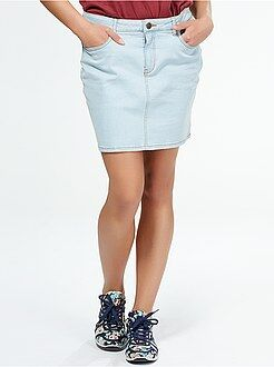 Femme du 34 au 52 Jupe courte en jean