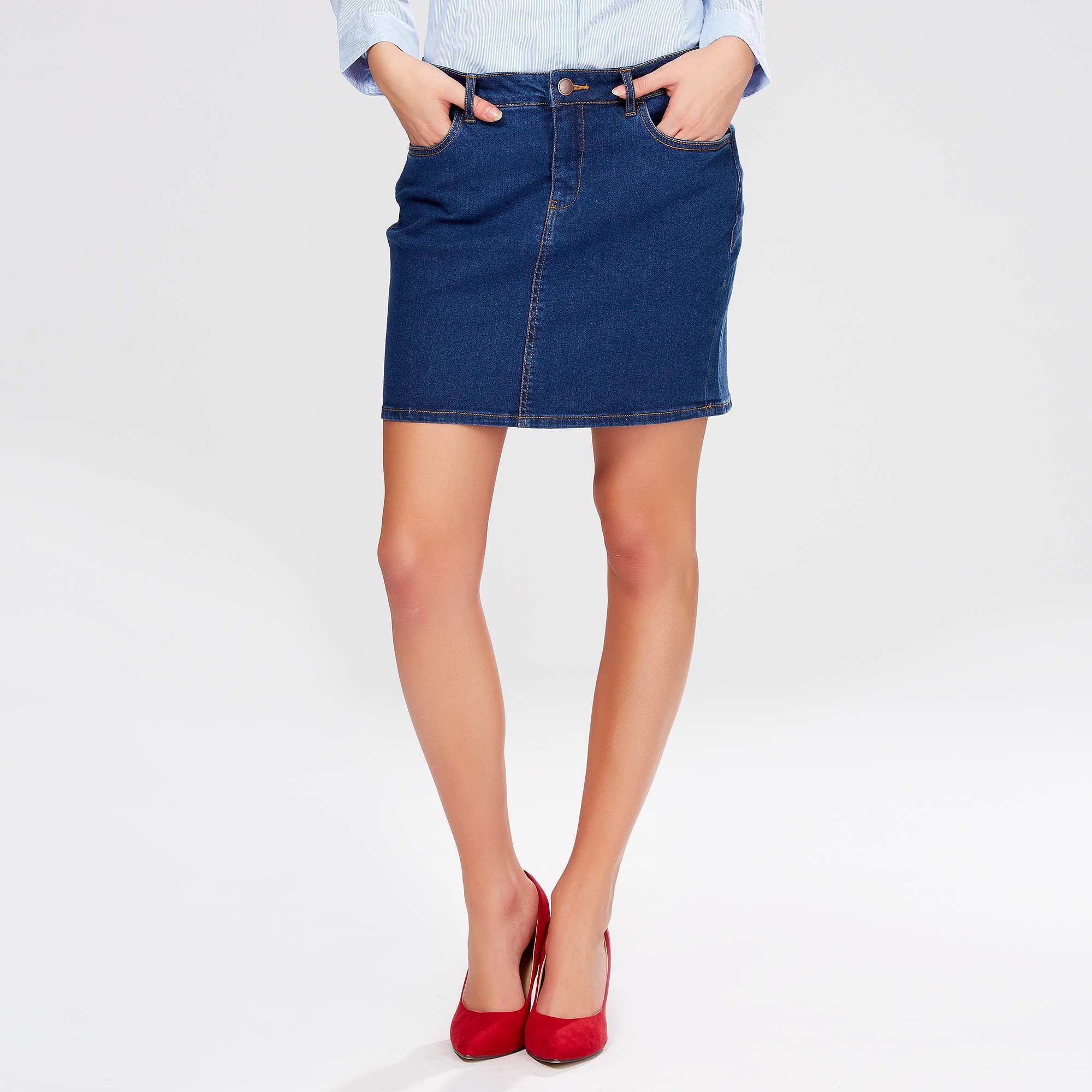 jupe courte en jean femme kiabi 13 00