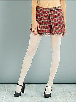 Femme - Jupe écossaise - Kiabi