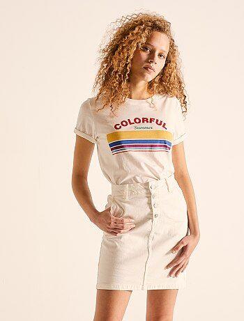 102025b0bae8e Jupe femme, collection de jupes courtes & longues pas cher Vêtements ...