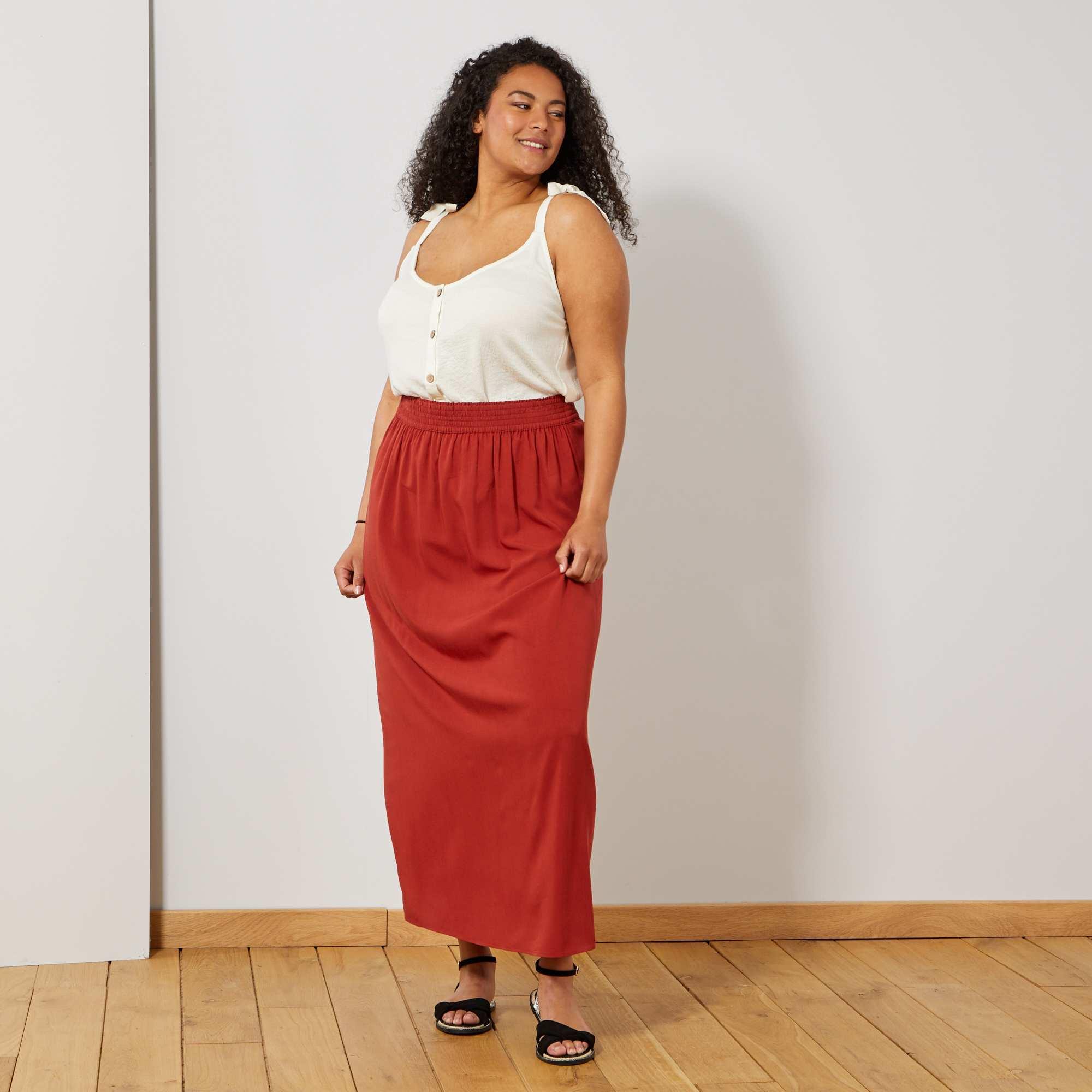 Elastique Femme Taille Jupe Jupe Grande MzUVSp