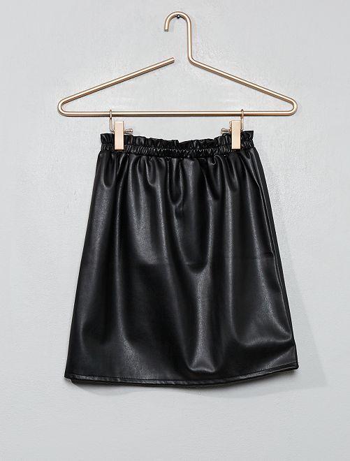 Jupe simili                             noir
