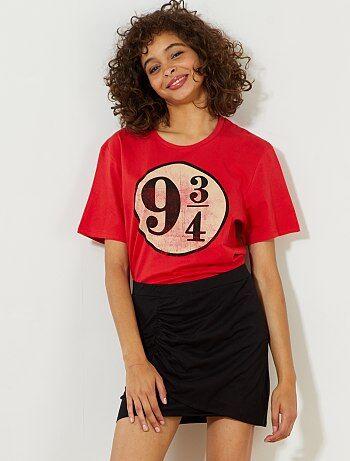 Femme du 34 au 48 - Jupe tube courte stretch effet drapé - Kiabi
