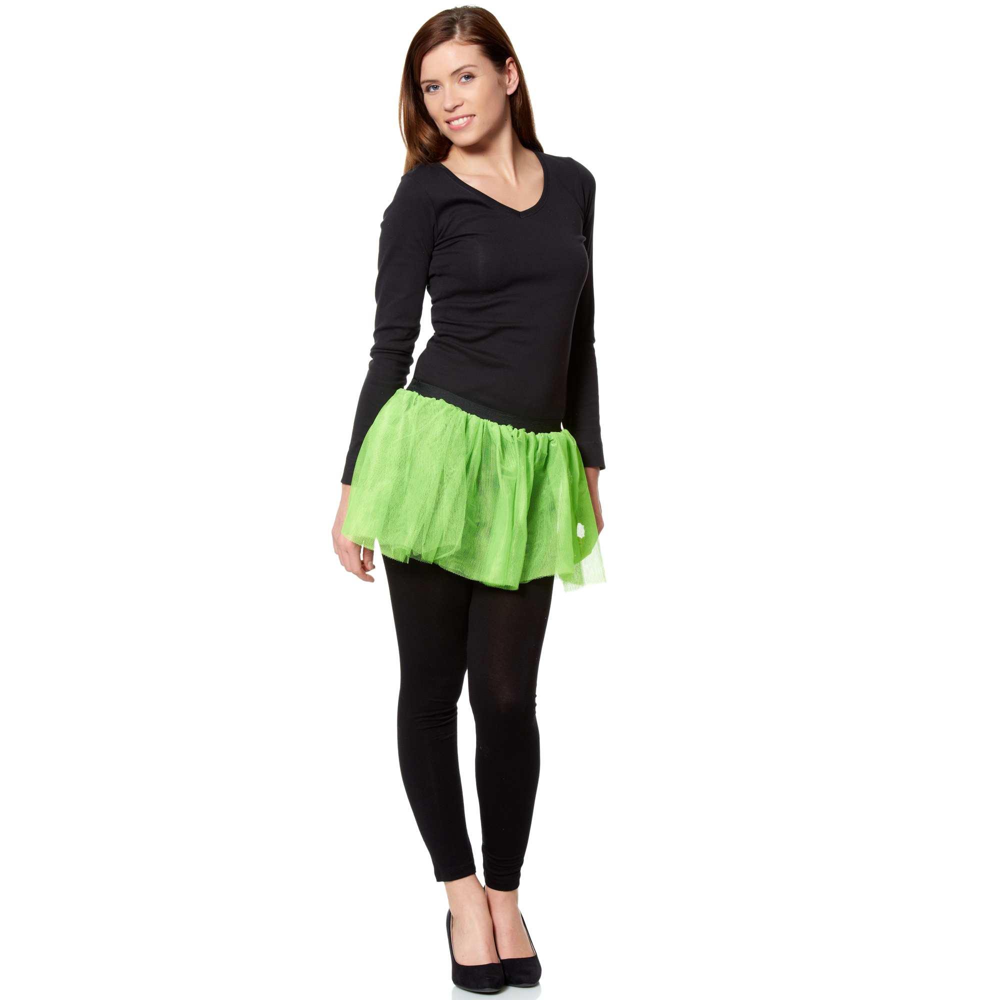 jupe tutu flashy femme vert fluo kiabi 8 00. Black Bedroom Furniture Sets. Home Design Ideas